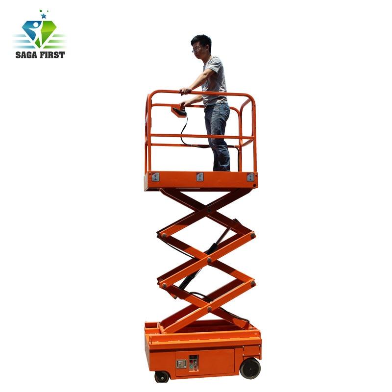 Construction Machinery/Electric Hydraulic Mini Scissor Lift Selfpropelled Scissor Lift