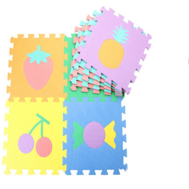 Environmentally Friendly Baby Game Pad EVA Child Anti-fall Non-slip Foam Rug Baby Crawling Puzzle Mosaic Floor Mat 30*30