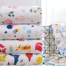 Детская кроватка для младенца одеяло s детское банное полотенце мультяшное Хлопковое одеяло постельные принадлежности одеяло пеленать малыша постельное белье 110*110 см ym012