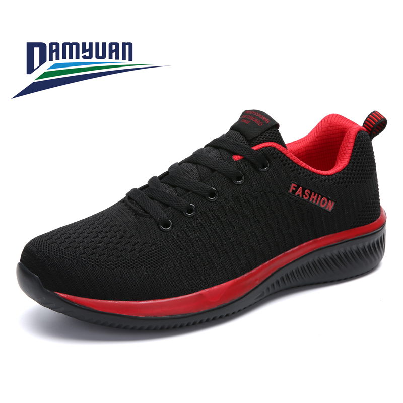 Damyuan Running Shoes 2020 New Spring Autumn Casual Men Sports Shoe Comfortable Breathable Non-slip Jogging Men's Sneakers