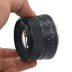 35mm F1.2 Manual Focus Lens Metal Casing Durable Lighweight Lens for Fuji X AS99