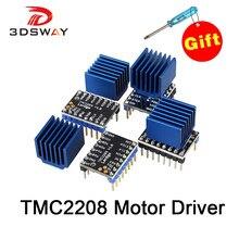 3DSWAY 3D Printer Part 4pcs/lot Lerdge TMC2208 Stepper Motor Driver Stepstick Ultra-quiet Replace TMC2100 Heatsink
