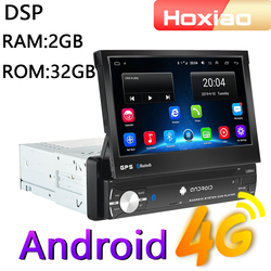 4G Android 8.1 1 Din Car Radio Multimedia Video Player for Nissan Toyota Lada Kia Suzuki Volkswagen Navigation GPS Audio 1Din