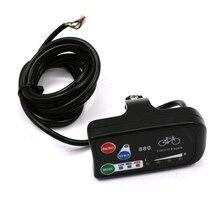 Светодиодный Дисплей 24V 36V 48V электрический велосипед KT светодиодный 880 для е-байка Управление Панель Дисплей Электрический велосипед Запчасти для Управление;