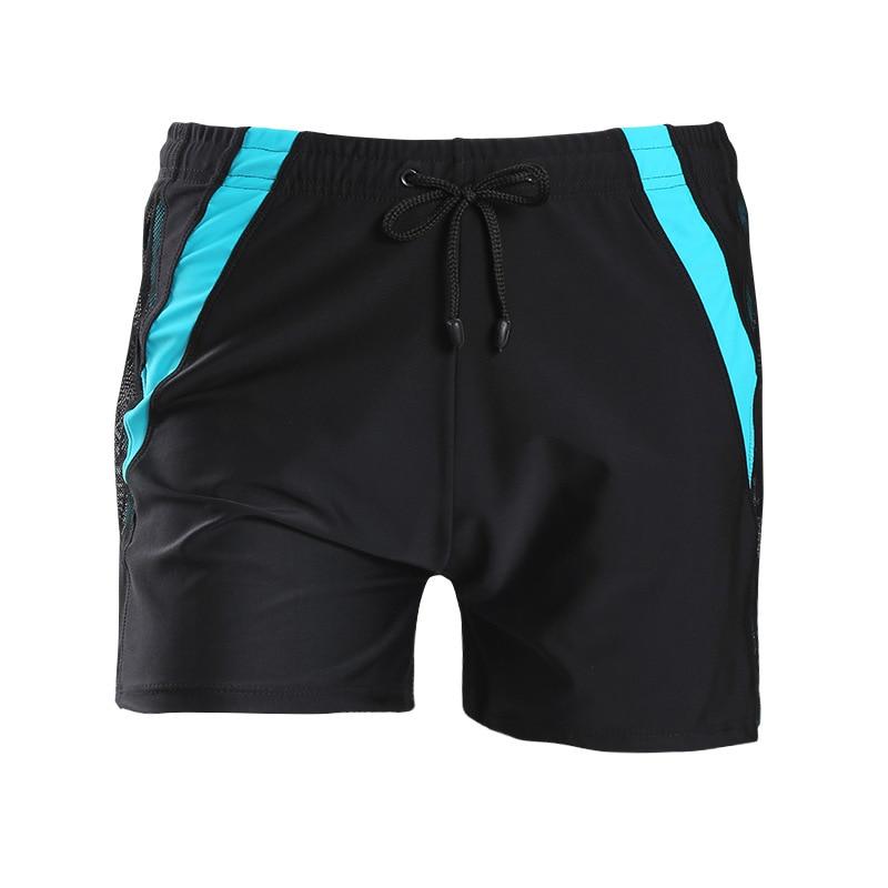 New Style Swimming Trunks Men Boxer Hot Selling Swimming Trunks Large Size Plus-sized Swimsuit MEN'S Swimming Trunks