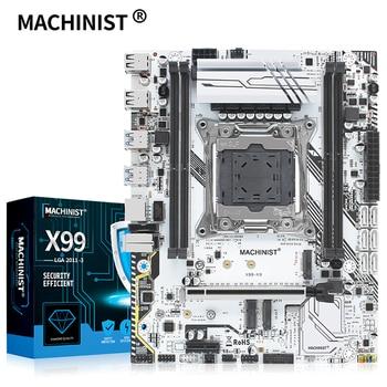 MACHINIST X99 motherboard LGA 2011-3 with dual M.2 Support four channel DDR4 ECC/NON-ECC RAM E5 2678 V3 E5 2620 2650 V3 X99-K9 1