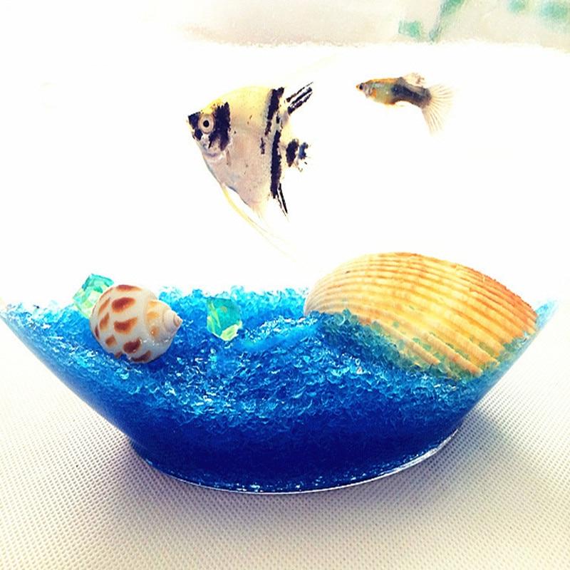 500g glass sand aquarium color sand fish tank bottom sand aquarium landscaping stone micro landscape decoration bottom sand