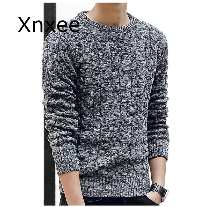 New Mens Sweaters Fahsion O Neck Winter Sweater Men Pullover Long Sleeve Casual Men Jumper Sweater Fashion Clothes