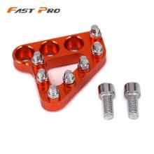 Moto arrière pied pédale de frein levier étape pointe plaque pour KTM EXC EXCF XC XCF XCW XCFW SX SXF MX 125 250 350 530 Enduro 690