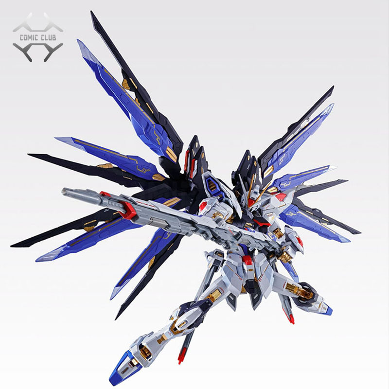 COMIC CLUB IN STOCK Metalgearmodels metal build MB Gundam strike freedom soul bule ver high quality  action figure robot toyAction & Toy Figures   -