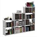 DIY сборная книжная полка  Нетканая стойка для хранения ткани  съемная подставка для книг  держатель для мелочей  органайзер  витрина для дома
