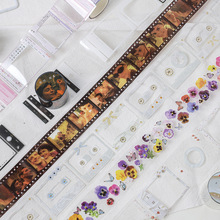 Stickers Scrapbooking School-Supplies Washi-Tape Stationery Label Decorative-Adhesive-Tape