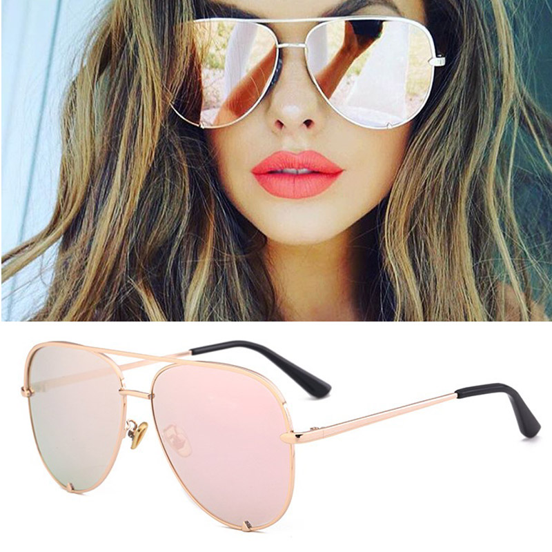 Sexy Lady Vintage Round Metal  Sunglasses Men Driving Black Retro Mirror Sun Glasses Lady Shade Sunglasses UV400 Oculos De Sol 3