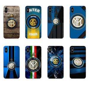 TPU Phone Cases For Samsung Galaxy Note 8 9 10 Pro S4 S5 S6 S7 S8 S9 S10 S11 S11E S20 Edge Plus Ultra Intermilan Milano Club