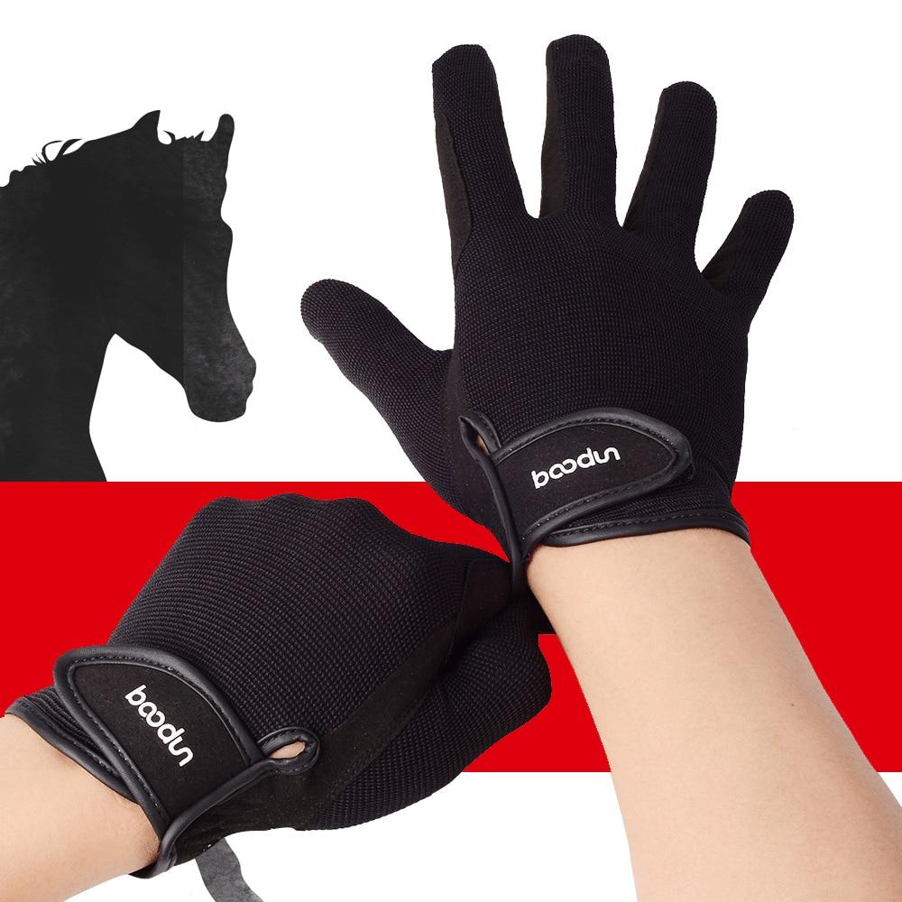 2019 Hot Equestrian Riding Gloves Unisex Professional Wear-resistant Anti-skid Horse Racing Baseball Softball Sports Gloves