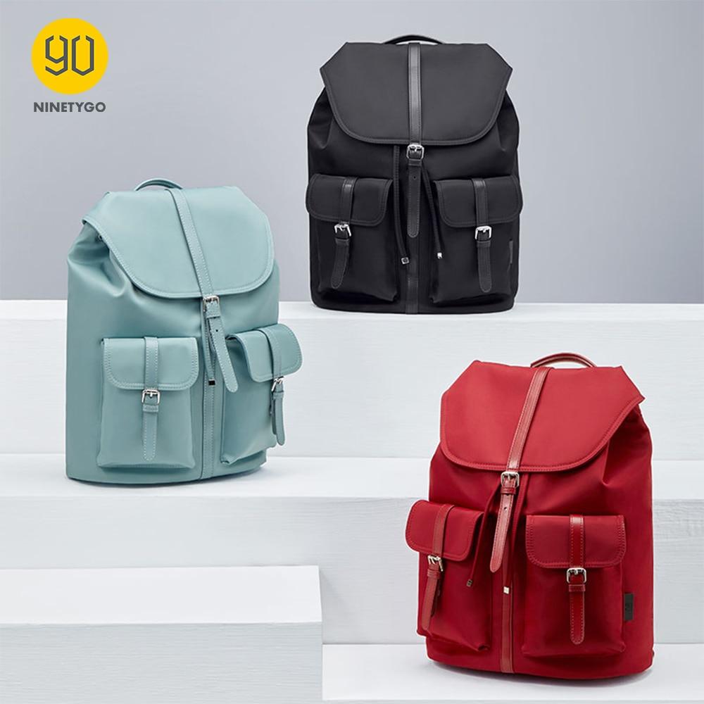 90 NINETYGO Commuter Nylon Ladies Backpack New Arrival Fashion Casual Women Big Capacity Stylish For Girls Waterproof|Backpacks| - AliExpress
