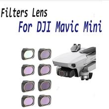 Drone Filter For DJI Mavic Mini UV CPL Polar ND4/8/16/32 Neutral Density Filters Lens Protector For Mavic Mini Accessories