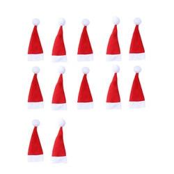 12PCS Christmas Tableware Holder Knife Fork Cutlery Set Xmas Hat Navidad Natal New Year 2020 Christmas Decorations for Home # 3