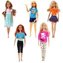 Новинка модное платье комплекты одежды для кукол Барби 30 см