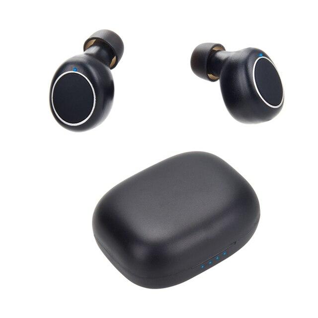 Mornlex mt01 tws bluetooth 5.0 fones de ouvido estéreo sem fio botão controle cancelamento ruído jogos esportes à prova dheadset água fone 2