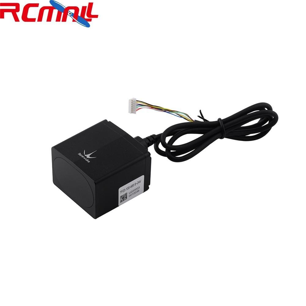 TF03 LiDAR ToF Laser Rangefinder IP67 Range Sensor Up To 100m/180m UART/CAN/IO,RS485/RS232
