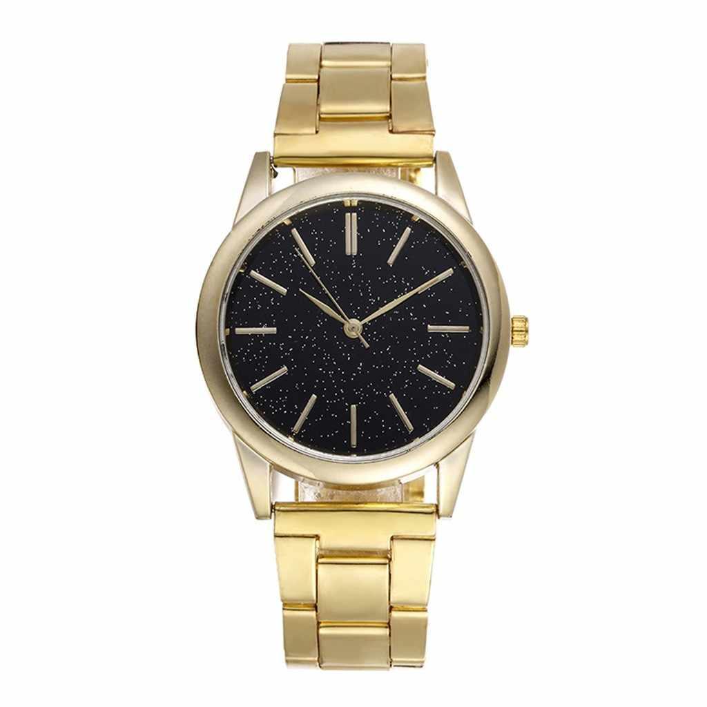 ใหม่ Star Embellishment ชายนาฬิกาสแตนเลสนาฬิกาผู้ชายนาฬิกาผู้ชายนาฬิกาข้อมือนาฬิกาสปอร์ต часы мужские