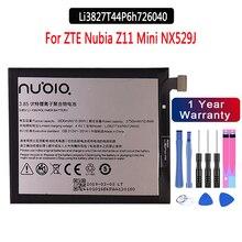 100% NEUE Original batterie 3,85 V 2830mAh Li3827T44P6h726040 Für ZTE Nubia Z11 Mini NX529J Batterie + kostenlose tools