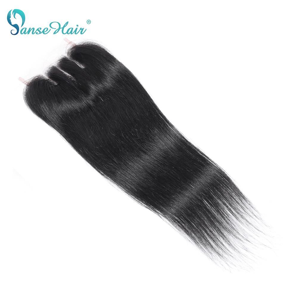 Бразильские прямые волосы Panse, 4*4, натуральное черное наращивание, 8-20 дюймов, не Реми, кружевная застежка с человеческими детскими волосами