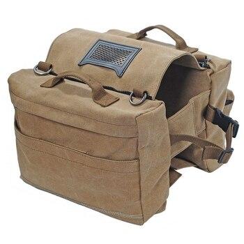 Mochila montura de perro, mochila de perro, bolsa de Camping, senderismo, suministros de Camping para perros, viajes, senderismo al aire libre