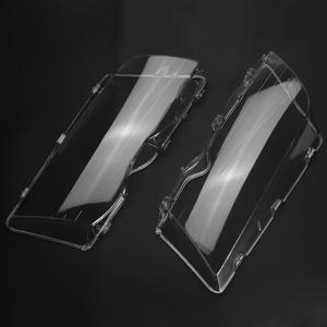 Image 4 - VODOOL 4 Tür Automobil Auto Scheinwerfer Glas Abdeckung Klar Links Rechts Scheinwerfer Kopf Licht Objektiv Deckt Styling Für BMW E46 98 01