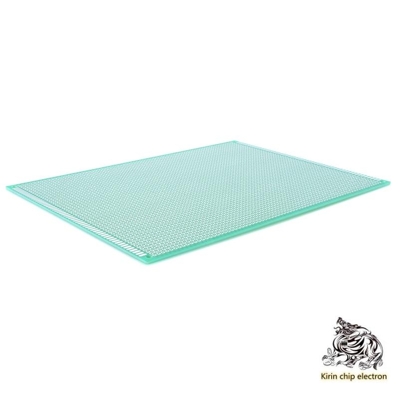 2pcs / Lot 180x300 Universal Circuit Board Glass Fiber Experiment Board Hole Board PCB Learning Board Single Panel