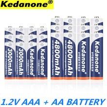 2020 nouveau 1.2 V 4800mAh NI MH AA piles rechargeables + pile AAA 3000 mAh batterie Rechargeable NI-MH 1.2 V AAA batterie
