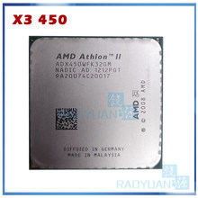 Amd athlon ii X3 450 X3-450 3.2GHz potrójne-Core procesor cpu ADX450WFK32GM gniazdo AM3 938pin(China)