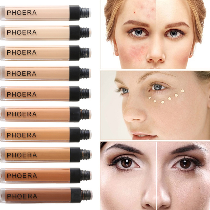 10 Colors Liquid Foundation Concealer Natural Makeup Waterproof Base Sweatproof Lasting Whitening Women's Cosmetics foundation image