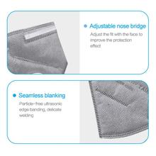 5/10pcs Anti Pollution KN95 Mask PM2.5 Mouth Mask Dust Respirator Washable Reusable Masks Cotton Unisex N95 Mask Mouth Muffle
