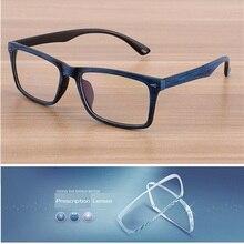 Vazrobe Vintage Wooden Glasses Mens customize Optical Lens Prescription
