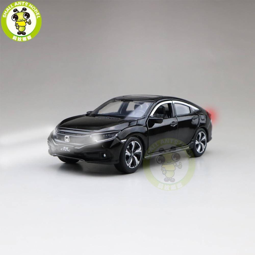1/32 Jackiekim CIVIC Diecast Metal Model CAR Toys Kids Children Sound Lighting Gifts