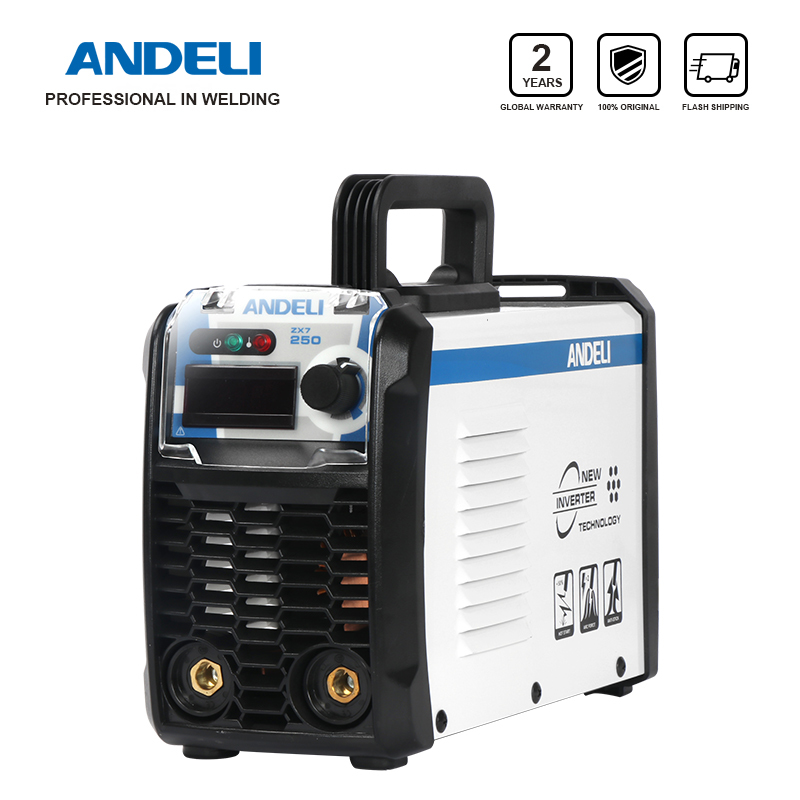 ANDELI ARC-250E 250A IGBT Inverter DC ARC Welding Equipment Machine MMA Welder For Electric Working With Accessories Soldering