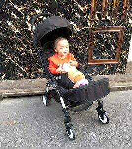 Image 2 - Akcesoria dla wózków dziecięcych Footboard dla Babyzenes Yoyo Yoya Carriage podnóżek przedłużenie stóp 32cm Footmuff dla Vovo Babytime