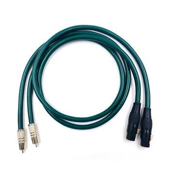 HiFi FA-220 OCC RCA Male to  XLR Female Audio Cable  2RCA To  XLR Balance Audio Cable