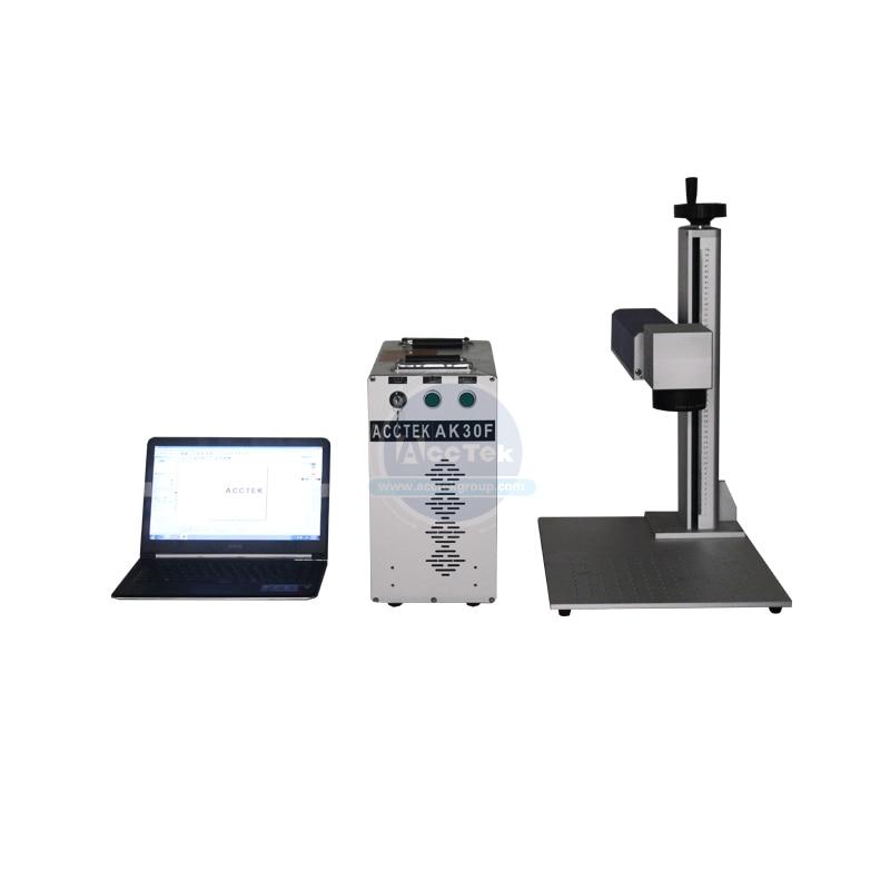 Hot Sale Small Laser Engraver 30w Portable Metal Laser Marking Machine