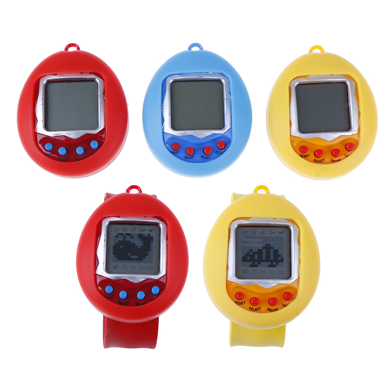 Keychains Watch Tamagotchi 168 Pets In One Nostalgic 90S Virtual Pet Toy Electronic Cyber Pet Toys Children Christmas Gifts