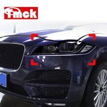 Novo para jaguar xe x760 xf x260 f-pace x761 E-PACE xj x351 f-type x152 acessórios do carro faróis tpu defumado preto protetor filme