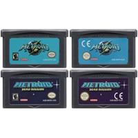32 Bit Video Game Cartridge Console Card for Nintendo GBA Metroide Fusion Zero Missio Metroi Series Edition 1