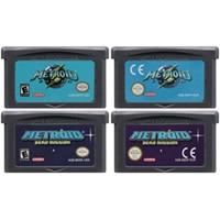 32 Bit Video Game Cartridge Console Card For Nintendo GBA Metroide Fusion Zero Missio Metroi Series Edition