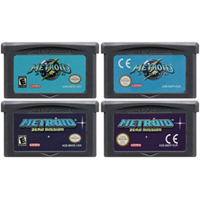 32 Bit Video Game Cartridge Console Card for Nintendo GBA Metroide Fusion Zero Missio Metroi Series Edition