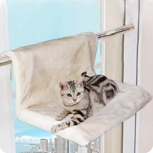 חתול מיטת נשלף חלון אדן חתול רדיאטור מיטת ערסל מוט מושב טרקלין לחיות מחמד קיטי תליית מיטת נעים חתול ערסל הר חיות מחמד מושב