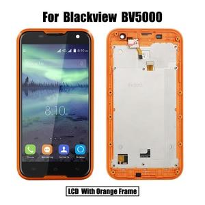 Image 3 - Piezas de repuesto para Blackview BV5000 LCD y Digitalizador de pantalla táctil, alta calidad, con módulo de pantalla de Marco