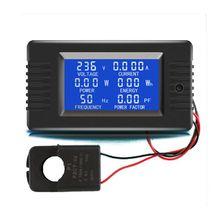 80V ~ 260V 100A/5A/10A Digital Display Ammeter Power Voltmeter Battery Tester multimeter ammeter voltmeter wattmeter ac 80 260v 0 100a lcd digital display current voltage power energy meter