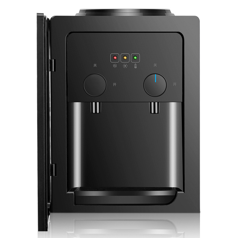 45W Water Dispenser Home Commercial Desktop Water Dispenser Home Commercial Hot And Cold Type 109 Black Diamond Anti-scalding